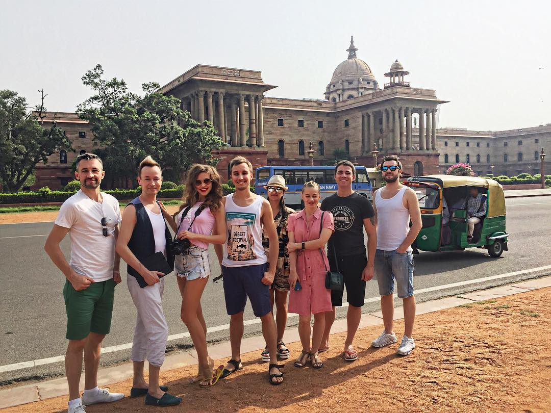 Гастроли в Индии (3)